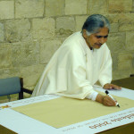 Dadi signs pledge for the Interionational Culture of Peace